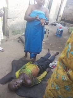 A disagreement has forced an angry housewife to brutally stab her husband to death in Ikorodu on...