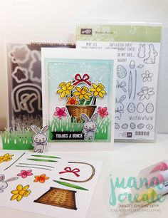 Juana Ambida Independent Stampin' Up!® Demonstrator Australia: Thanks a Bunch - Basket Bunch bundle