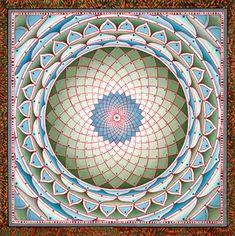 Olive Wheel Mandala