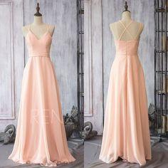 2015 New Chiffon Bridesmaid dress, Wedding dress, Party dress, Formal dress, Floor-length dress (F089)