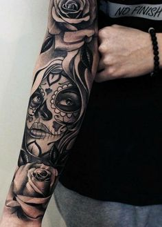 Tattoo, sleeve, forearm