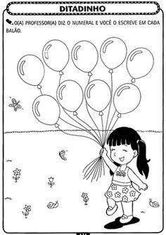 Professores Compartilhando Atividades: Atividades de matemática para Educação Infantil - A ARTE DE EDUCAR Arabic Alphabet Letters, John Kennedy Jr, Kindergarten Math Activities, Printable Adult Coloring Pages, Anime, Fictional Characters, Junho, Homeschooling, School Stuff