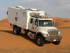 International 7400 4x4 UNICAT Expedition Vehicle