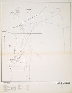 MAUDS LANDING Cadastral map of town adjacent to Coral Bay. Includes locality plan. Part of collection: Townsite maps, Western Australia. https://encore.slwa.wa.gov.au/iii/encore/record/C__Rb2244204