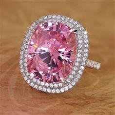 Pink Perfection Diamond<em>Aura</em>® Ring