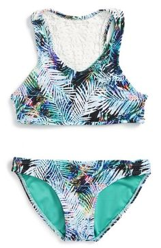 Little Peixoto Palau Two-Piece Swimsuit (Big Girls) available at #Nordstrom