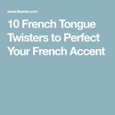 Looking for a fun new way to boost your French speaking skills? These classic French tongue twisters will be a great addition to your study routine! French Language Lessons, French Language Learning, French Lessons, Foreign Language, Spanish Lessons, Spanish Language, Learning Spanish, Spanish Activities, Learning Italian