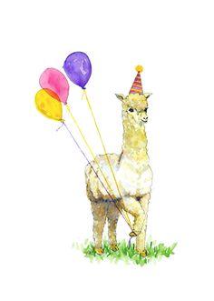 Hey, I found this really awesome Etsy listing at https://www.etsy.com/listing/123747340/alpaca-birthday-card