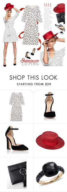 """Untitled #280"" by craftsperson ❤ liked on Polyvore featuring Dolce&Gabbana, Gianvito Rossi, Chanel, LULUS, Pomellato and happyhour"