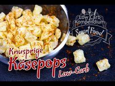 Low-Carb Käsepops (gepuffter Käse, Cheese Pop) - Die geniale Knabberei