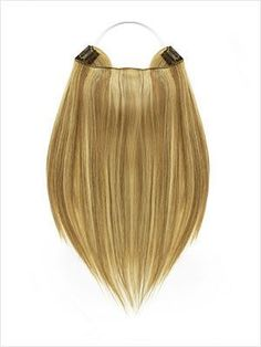 """13"""" Straight Layered Remy Flip-In Extensions 85g #Ash Golden Blonde (F18/24)"""
