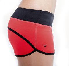 WODshop.com - WOD Gear | Red and Black Womens Shorts, $52.00 (http://www.wodshop.com/wod-gear-red-and-black-womens-shorts/)