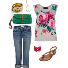 Spring casual, created by thidmark