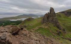 Scotland, Skye old man of Storr