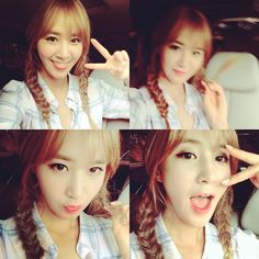 SNSD Yuri greets fans with her adorable SelCa pictures