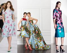 Three is a Trend Pre-Fall 2013: Bold, Saturated Florals