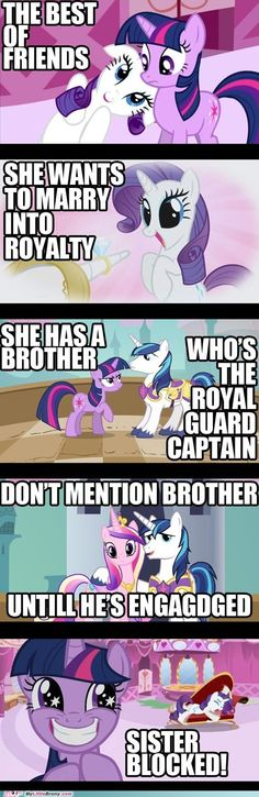 Awwww.... Well she learned at the Gala that Blueblood is a royal scumbag. She probably changed her mind then!