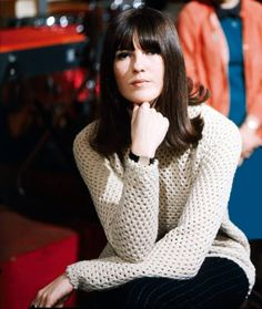 """Cathy McGowan, the Queen of the Mods from """"Ready Steady Go!"""" (1965)"""