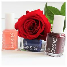 in love with these new essie s peach side babe, suite retreat, and sole mate from essie my darling bought me the rose #essie #essiepolish #nails #nail #essiedeutschland #essielove #essienista #essienails #essieliebe #essiedeut #essienailpolish #love #suiteretreat #solemate #peachsidebabe #instagood #pretty #girl #metime #nagellack #nailpolish #nailswag #endlesslove #rose #flower #essieaddict #essielover
