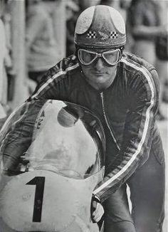 "alfonslx2: ""Mike.. "" Motorcycle Racers, Racing Motorcycles, Vintage Motorcycles, Vintage Helmet, Vintage Racing, Honda Bikes, Vintage Cycles, Ducati, Yamaha"