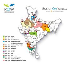 (ROW) #RosterOnWheels sharing the Proud Moments covering by Major District across #India  Is your District keen to go paperless,Sign Up with #RosterOnWheels.