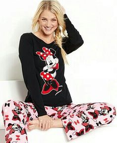 Designer Clothes, Shoes & Bags for Women Disney Outfits, Cute Outfits, Cozy Pajamas, Pyjamas, Mickey Mouse, Disney Pajamas, Pajamas Women, Active Wear For Women, Shirts For Girls