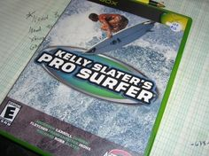 Kelly Slater's Pro Surfer game for Xbox Excellent Condition Complete