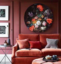 Een prachtig bloemstilleven van Abraham Mignon aan de muur? Deze muurcirkel / wandcirkel is gemaakt van luxe materiaal (alu-dibond). Hang deze Hollandse oude meester in de woonkamer, slaapkamer of hal. De wanddecoratie is van het merk HIP ORGNL. Bestel hier een origineel exemplaar met unieke grafische touch, uitsnede en signatuur. ✓ Voor 12u besteld, is volgende werkdag in huis! ✓ Gratis verzending #oudemeesters #wanddecoraties #muurcirkels #wandcirkels #interieur #hiporgnl Living Room Inspiration, Interior Inspiration, Bohemian House, My New Room, Living Room Interior, Colorful Interiors, Decoration, Bedroom Decor, Interior Design