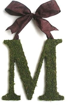 Moss Covered 12 inch Wedding Church Door by SpottedLeopard on Etsy, $45.00
