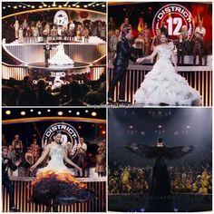Katniss wedding dress transformation ~ Hunger Games / Catching Fire