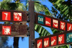 Zoo Signage, Guide System, Environmental Graphics, Explore, Park, Lembang, World, Blog, Photography