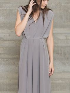 Rachel Comey Courier Dress - Grey