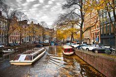 Amsterdam Canal #blueprint #netherlands http://www.blueprinteyewear.com/