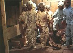 THE BROOD - this movie scared the crap out of me as a child. Just watched it for the 1st time as an adult. Still kind of freaky.