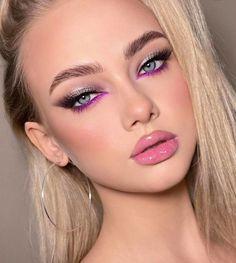 Grey Makeup, New Year's Makeup, Beauty Makeup, Dramatic Makeup, Beauty Skin, Hair Beauty, Eye Makeup Designs, Makeup Eye Looks, Spring Makeup