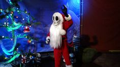 Jack Skellington as Sandy Claws Charater Meet & Greet Walt Disney World