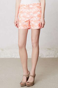 Anthropologie - Aglitz Brocade Shorts $19.95 #morecolors