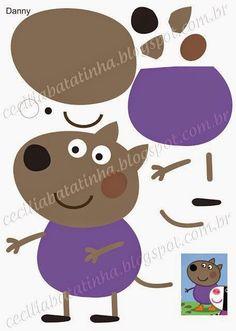 Moldes para Todo: :: Peppa Pig y amigos ::