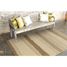 270cm x 180cm - Save big on a Indoor/Outdoor Wave Rug Beige Brown-270cmx180cm at CrazySales.com.au - Get a high class at low prices with the Indoor/Outdoor Wave Rug Beige Brown-270cmx180cm! Outdoor Sofa, Indoor Outdoor, Outdoor Furniture, Outdoor Decor, All Locations, High Class, Waves, Colours, Beige