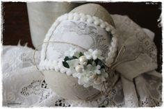 Ostereier - ♥shabby  - Osterei zum Befüllen ♥ - ein Designerstück von lavendelherzl bei DaWanda