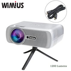 "Wimius LED Projector 4""LCD 1200 Lumens Home Cinema Theater Full HD 1080P Beamer Proyector Video Projetor Dustproof For XBOX TV     Tag a friend who would love this!     FREE Shipping Worldwide     Get it here ---> http://webdesgincompany.com/products/wimius-led-projector-4lcd-1200-lumens-home-cinema-theater-full-hd-1080p-beamer-proyector-video-projetor-dustproof-for-xbox-tv/"