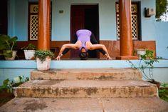 #prasaritapadottanasana D #Mysore #ashtanga #ashtangayoga #yoga  photo credit @pupigiulia