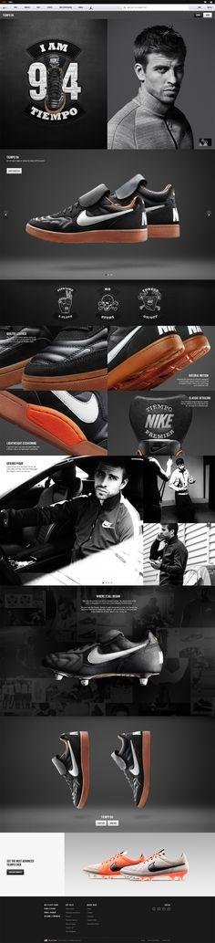 Ryan Mendes, Interactive Art Director – Nike Tiempo 94