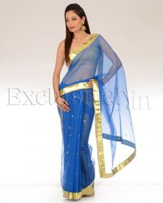 Awesome saris by Divya Kanakia at exclusively.in!