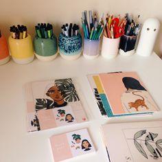 Packing print and comic orders last week / shop here