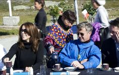 Crown Prince Frederik,Crown Princess Mary and their children visited Qeqertarsuatsiaat,Greenlad.