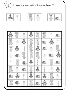 More pattern fun with the Little Red Hen Visual Perception Activities, Math Patterns, Math Writing, Vision Therapy, Little Red Hen, Coding For Kids, College Classes, Classroom Fun, Kindergarten Teachers