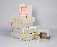 Casa de muñecas diseñada por Duggan Morris Architects en colaboración con Unit 22 Modelmakers