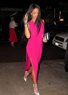 rihanna pink dress - Buscar con Google