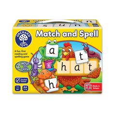 Orchard Toys Match and Spell: Orchard Toys: Amazon.co.uk: Toys & Games